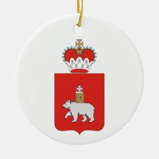 Wappen von Perm krai Keramik Ornament