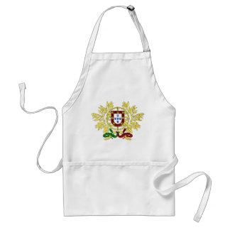 Wappen von Portugal-Gold Schürze