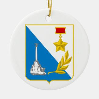 Wappen von Sewastopol Keramik Ornament