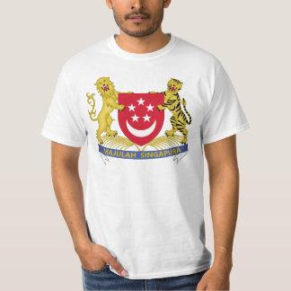Wappen von Singapur 新加坡国徽 Emblem T-Shirt