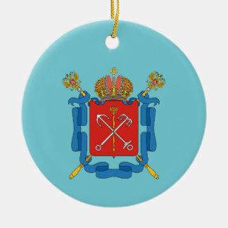 Wappen von St Petersburg Keramik Ornament