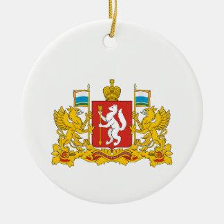 Wappen von Swerdlowsk oblast Keramik Ornament