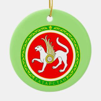 Wappen von Tatarstan Keramik Ornament
