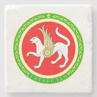 Wappen von Tatarstan Steinuntersetzer