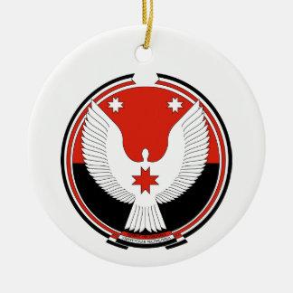 Wappen von Udmurtien Keramik Ornament