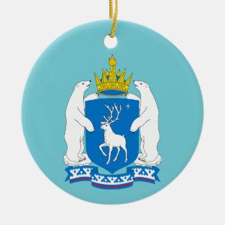 Wappen von Yamal-Nenetsia Keramik Ornament