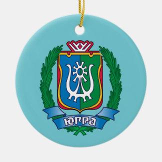Wappen von Yugra Keramik Ornament