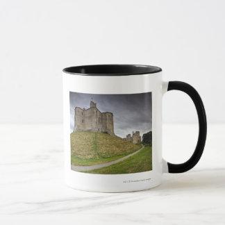 Warkworth Schloss in Northumberland, England Tasse