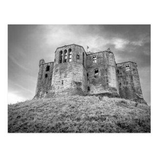 Warkworth Schloss, Northumberland, Postkarte