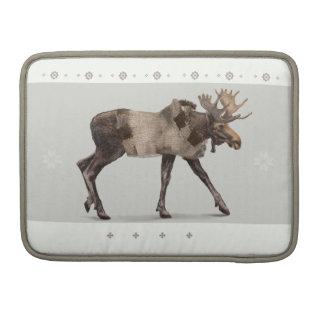 'Warm gekleidetes Moose Sleeve Für MacBook Pro