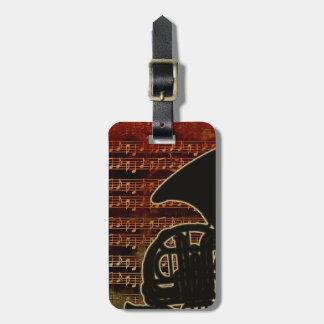 Warme Ton-französisches Horn ID280 Kofferanhänger