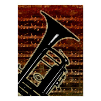 Warme Ton-Trompete ID280 Poster
