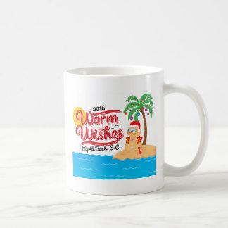 Wärmen Sie Wünsche von Myrtle Beach Kaffeetasse