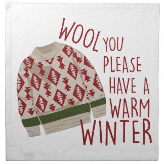 Warmer Winter Serviette