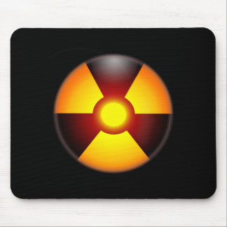 Warnende nukleare Strahlung Mousepad