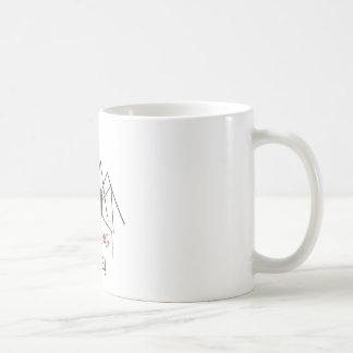 warnender i-Biss Kaffeetasse