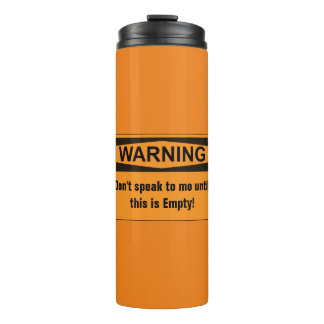 Warnender Kaffee-thermische Reise-Tasse Thermosbecher