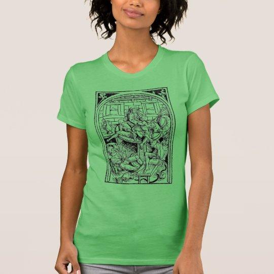 Warnung: anfällig für Shenanigans und malarkey. T-Shirt