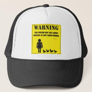 Warnung: Dieser Personen-Fernlastfahrer-Hut Truckerkappe