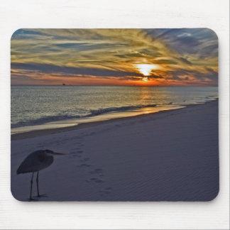 Wartete den Sonnenuntergang Mousepad