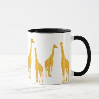 Warum haben Giraffen lange Hälse? Schale Tasse