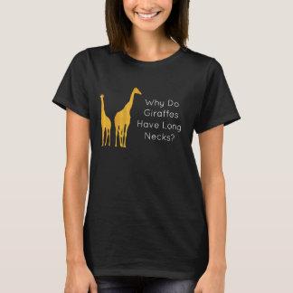 Warum haben Giraffen lange Hälse? T - Shirt