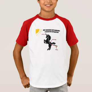 Warum Unicorns-Furz-T - Shirt