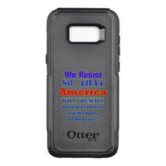 Warum wir widerstehen. Für Amerca OtterBox Commuter Samsung Galaxy S8+ Hülle