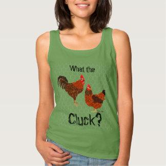 Was das Gluckern? - Hühner Tank Top