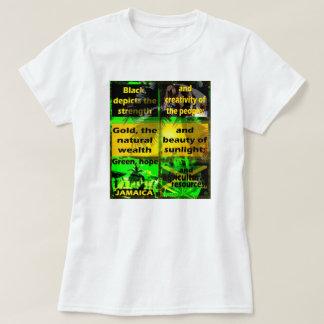 Was definiert Jamaika-Farben oder gemein? T - T-Shirt