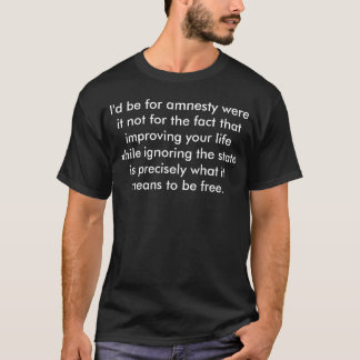 Was es bedeutet, zu sein freies (M) T-Shirt