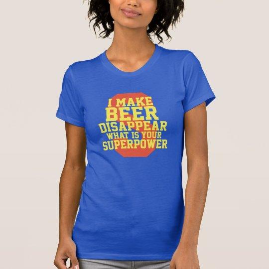 Was Ihr Supermacht-lustiger Cartoon ist T-Shirt