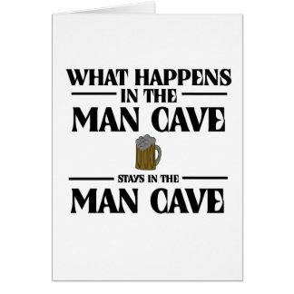 Was in der Mann-Höhle geschieht, bleibt Karte