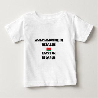 Was in WEISSRUSSLAND-Aufenthalten dort geschieht Baby T-shirt