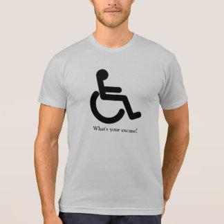 Was ist Ihre Entschuldigung? T-Shirt