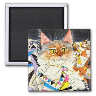 Was ist neue Pucci-Katze? Magnet