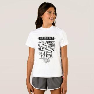 Was mich und mein Haus anbetrifft dienen wir den T-Shirt