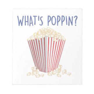 Was Poppin ist Notizblock
