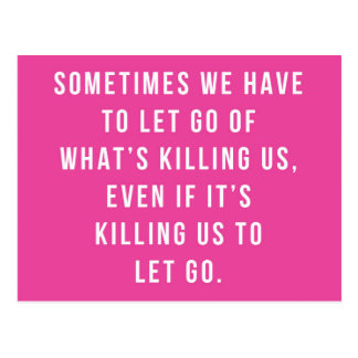 Was uns Zitat tötet Postkarte