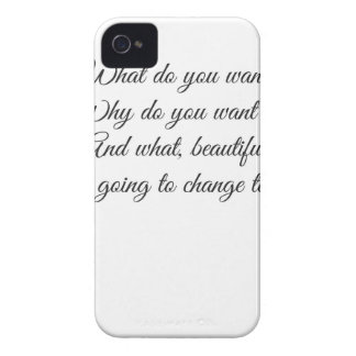 Was wollen Sie? iPhone 4 Cover