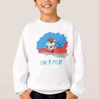 Waschbär: Ich bin ein Pilot Sweatshirt