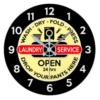 Waschküche-Uhr/Waschküche-Uhr Große Wanduhr