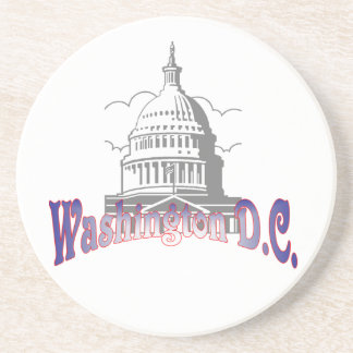 Washington D.C. Coaster Sandstein Untersetzer