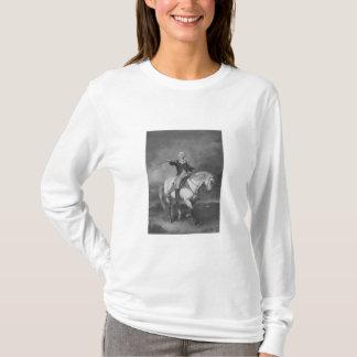 Washington, das einen Gruß in Trenton empfängt T-Shirt