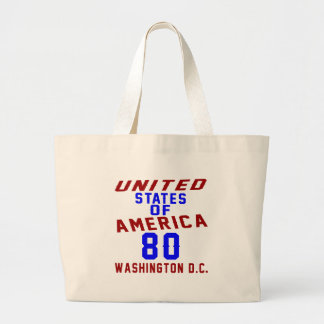Washington DC des USA-80 Jumbo Stoffbeutel