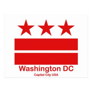 Washington DC-Hauptstadts-Stadt USA Postkarte