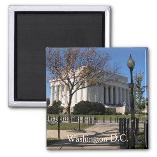 Washington DC-Kühlschrankmagnet Quadratischer Magnet