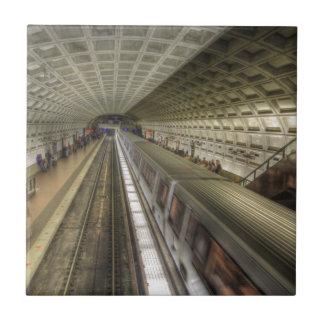 Washington DC-Metro-Bahnstation Keramikfliese