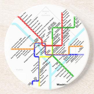 Washington-DC-Metro Untersetzer