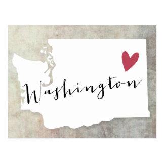 Washington-Liebe Postkarte